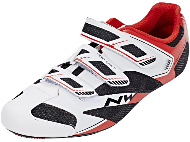 Northwave Sonic 2 Shoes Men white/black/red